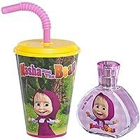 Masha and the Bear Eau de Toilette Infantil - 3 Piezas