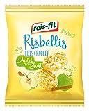 reis-fit Risbellis Reis Cracker Apfel & Zimt, 4er Pack (4 x 40 g) -