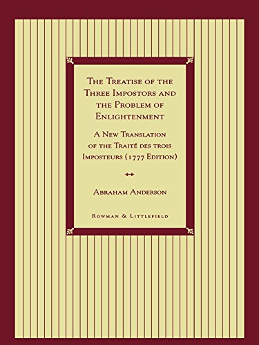 John s garrisons friendship and queer theory in the renaissance download e book for kindle the treatise of the three impostors and the problem of by abraham anderson fandeluxe Choice Image