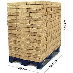 Briquetas de Madera - Palet de 1.100 kg