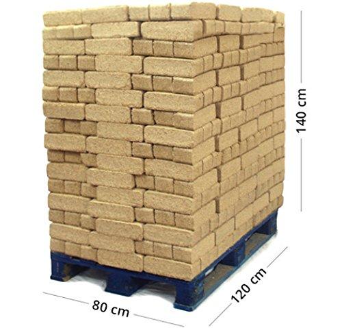 Briquetas de Madera – Palet de 1.100 kg