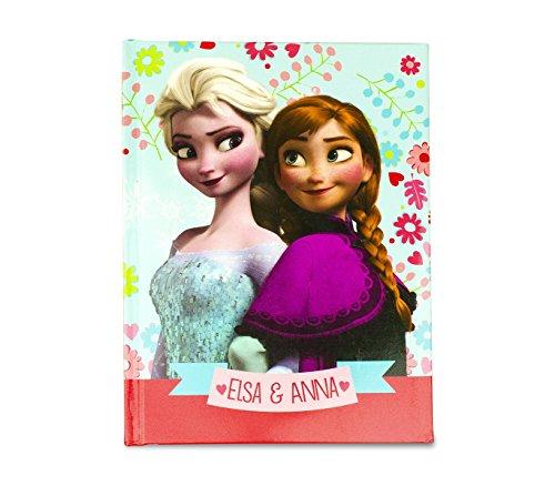 MEDIA WAVE store Diario Scuola 10 Mesi 861154 Anna ed Elsa Frozen Regno di Ghiaccio Agenda Scuola
