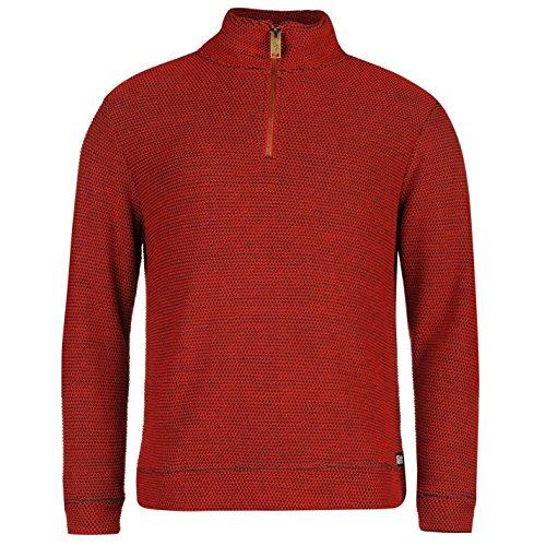 ocean-pacific-hombre-1-4-cremallera-waffle-sweat-top-sudadera-blusa-vestir-ropa-red-large