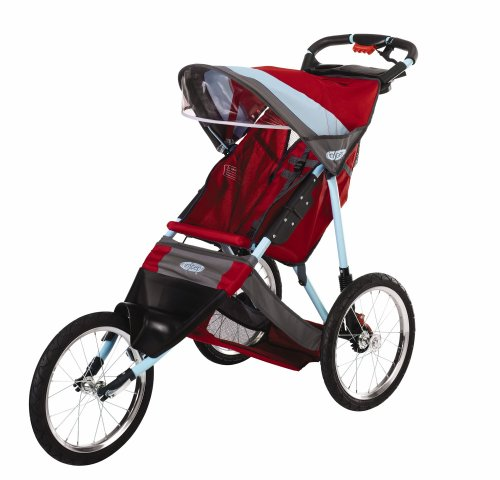 InStep Spann Run Around LTD Jogging Buggy, Teal/Brick