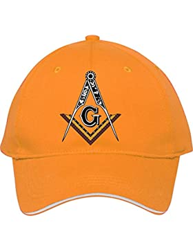 Nueva moda masónico _ Square _ y _ brújula gorra de béisbol Snapback sombreros ajustable gorro de algodón macho...