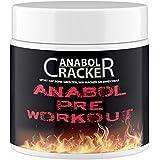 Anabol Pre-Workout, 100% rein, Stärkster Booster, 300g Dose, Beta Alanin, L-Tyrosin, L-Arginin Alpha Ketoglutarat, Taurin, Citrullin Malat Pulver Muskelaufbau