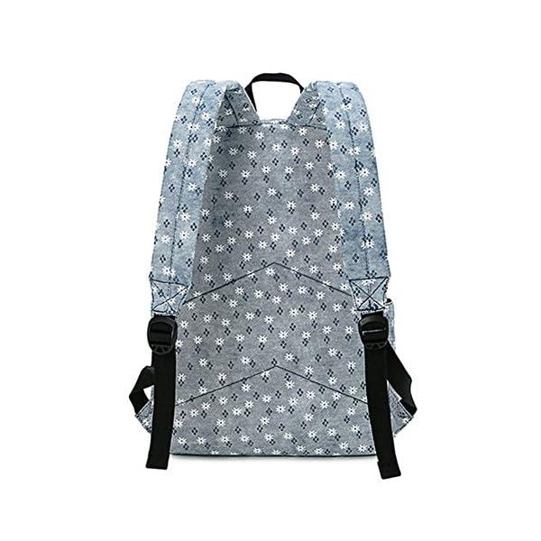 513OKOUNVXL. SS600  - Moollyfox Niña Dulce floral del Estilo fresco Linda la capacidad grande Mochila bolso de escuela Para Adolecente…