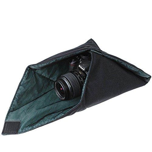 X-Wrap Einschlagtuch (Schutzhülle) 40 x 40 cm - z.B. für kleine DSLR-Kameras inkl. Objektiv oder Tablet-PCs (iPad)