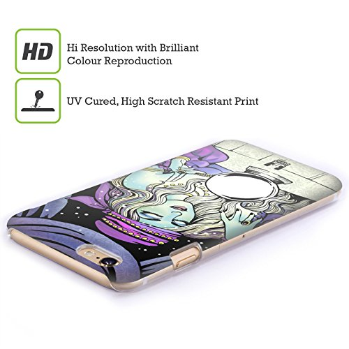 Head Case Designs Lupo Guanti Incantati Cover Retro Rigida per Apple iPhone 7 Plus / 8 Plus Gipsy