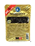 Marmarabirlik Schwarze Oliven in Salzlake 500g