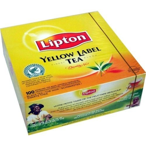 Lipton Yellow Label Tee, Schwarztee, 100 Teebeutel - 100 Lipton Teebeutel
