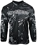 Heyberry Motocross MX Shirt Jersey Trikot schwarz weiß Größe XXL