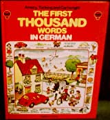 First Thousand Words in German (Usborne First 1000 Words)