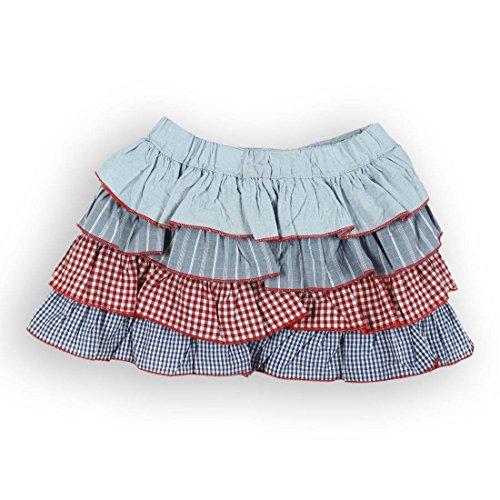 Texture Tired Skirt(8903822301893)