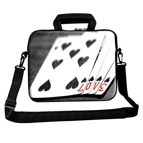Theskinmantra Playing Cards messenger bag for 15.6 inch laptop
