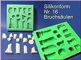 Silikonform, Bruchsäulen, Nr. 16