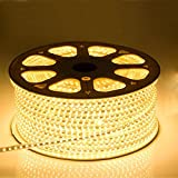 High Quality Waterproof LED Rope Light With Adapter For Decoration - 5 - Meters - Yellow/Warm White Color (Phoenix Light)