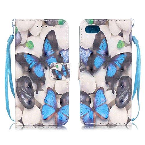 Eine Vielzahl von Farben XFAY HX-455 iPhone 7plus Handyhülle Case für iPhone 7plus Hülle im Bookstyle, PU Leder Flip Wallet Case Cover Schutzhülle für Apple iPhone 7plus-2 Farbe-18
