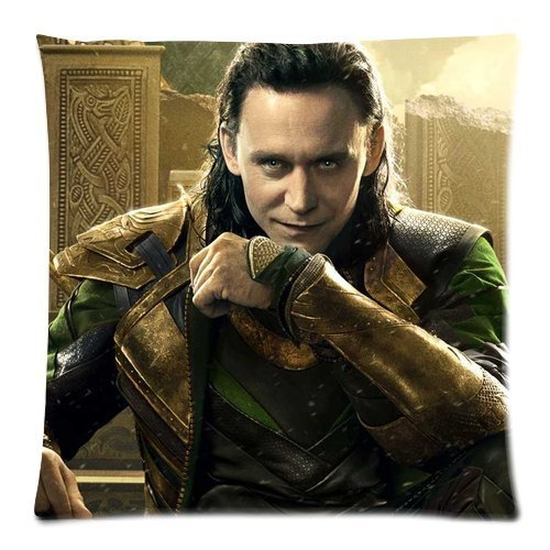 Tom Hiddleston Loki in Thor 18 X 18 Inches Custom Cushion Throw Pillow Cover Case By Funny Gift