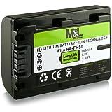 Batterie NP-FH50 pour Sony CyberShot DSC-HX1 | DSC-HX100V | DSC-HX200V - DSLR Alpha 230 DSLR-A230 | 330 DSLR-A330 | 380 DSLR-A380 | 390 DSLR-A390 - Camcorder DCR-DVD Series | DCR-HC Series et bien plus encore...