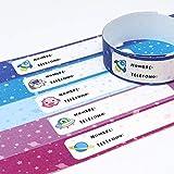 Haberdashery Online Anpassbare Kinder-Identifikationsarmband. Wasserdicht 5 Einheiten Modell: Galaxie