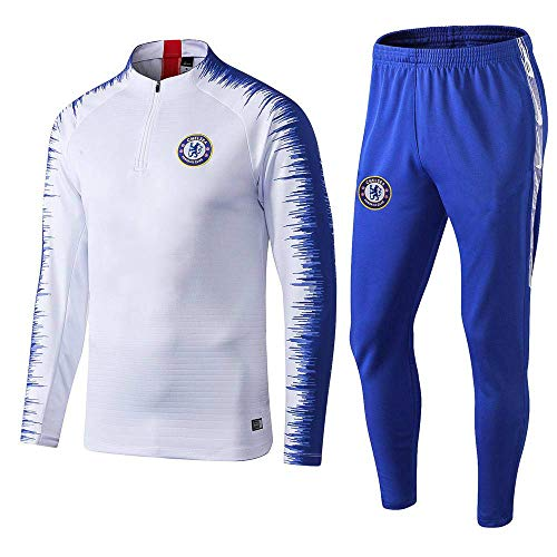 BoFlision Sportbekleidung Fußball Trainingsanzug Langarm Sportbekleidung Fußball Outfit Anzug, A, S