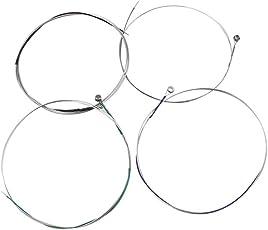 Magideal High Quality Viola String Set Ball End Set of 4 Pcs Silver