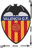 Parches - FC Valencia C.F. - Blanquinegros - Small - Soccer Spain - Primera Division - Soccer - Deportes de Motor - Deportes - Fútbol - Parche Termoadhesivos Bordado Apliques - Patch