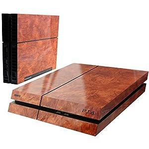 Simple Sticker Aufkleber für PS4 3D Strukturfolie mit sichtbarer und fühlbarer Struktur, Sony Playstation 4 Aufkleber, Sticker, Designaufkleber für PS4