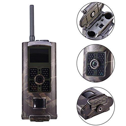 kaersishop HC-700G 3G Wasserdichte Videokamera für Überwachung , Unterstützt 3G SIM Karte /IMEI Bekommen echtzeite Fotos,6 AA-Alkalibatterien und Standby-Zeit bis zu 6 Monaten (Handy-kamera-dolly)