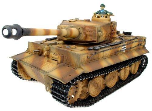Taigen RC Tank avec Pièces en Métal - Tiger