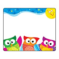 TREND enterprises, Inc. Owl-Stars! Terrific Labels, 36 ct