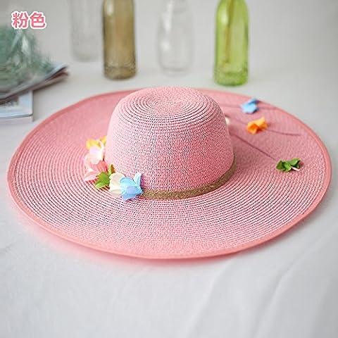 Zhangyong * Grand Chapeau de paille ainsi que leur enfant