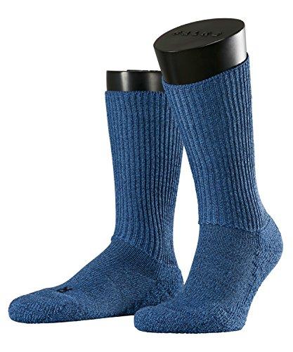 FALKE Herren Socken Walkie Ergo, Gr. 37/38, Blau (light denim 6660)