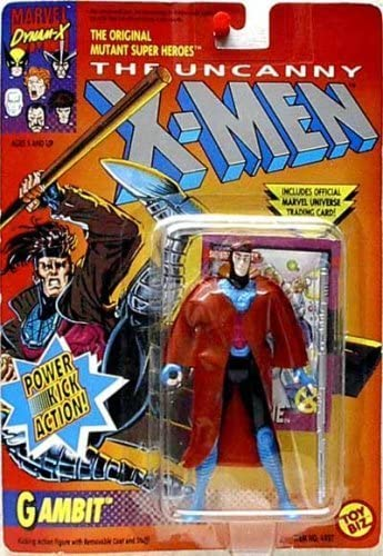 The The The Uncanny X-Hommes  Gambit Power Kick Action Figure by X Hommes  721588