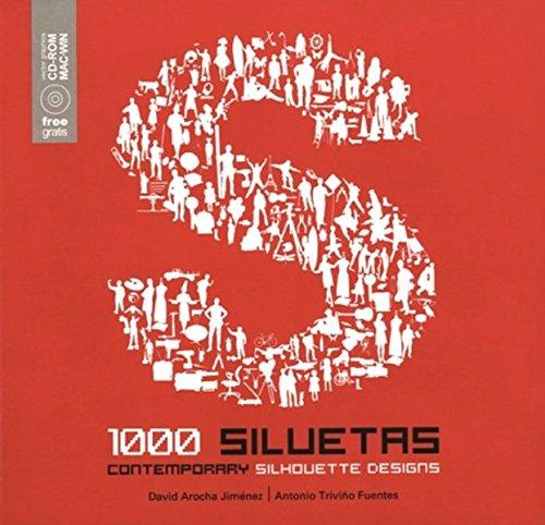1000 siluetas contemporaneas + CD rom
