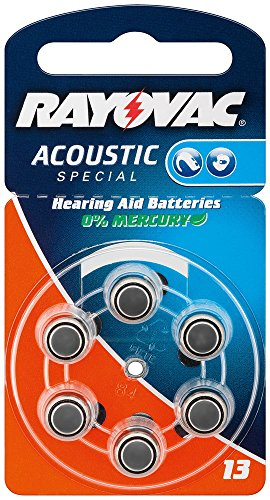 Varta-appareils auditifs cellules/acoustic rayovac special piles boutons zinc-air v13