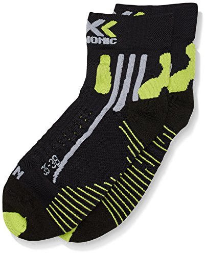 X-Socks Funktionssocken Effektor Running Shorts Man Black/Acid Green, 35/38