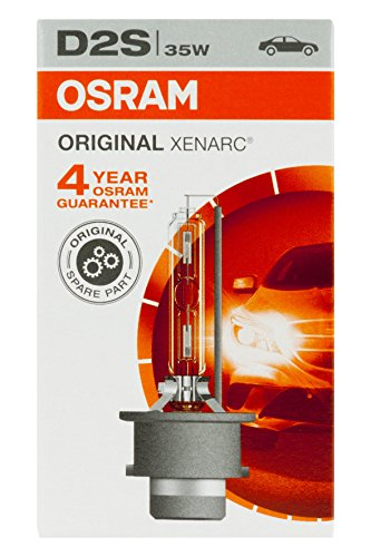 Osram XENARC ORIGINAL D2S HID Xenon-Brenner, Entladungslampe, Erstausrüsterqualität OEM, 66240, Faltschachtel (1 Stück) Osram XENARC ORIGINAL D2S HID Xenon-Brenner, Entladungslampe, Erstausrüsterqualität OEM, 66240, Faltschachtel (1 Stück)