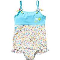 Splash About–Traje de bañador para niña, niña, SSFB3, Flora Bimbi, 3-4 años