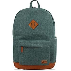 DURAPACK Vintage 22 Ltrs Green Casual Backpack (V2GN)
