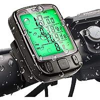 SuMille Bicycle Speedometer Odometer Bike Computer Waterproof Backlight Displ...