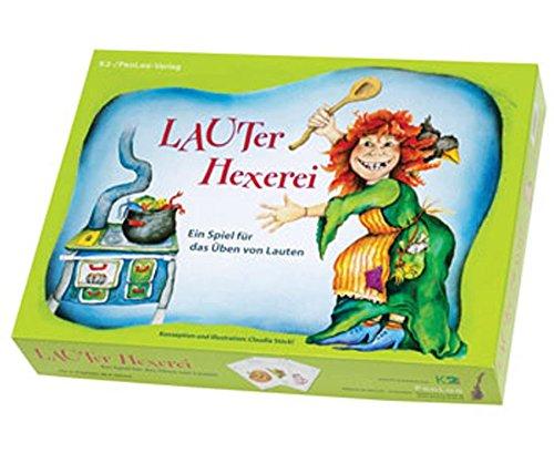 Betzold LAUTer Hexerei, Übung der Aussprache, ab 3 Jahren - Brettspiel Lernspiel Sprachentwicklungshilfe