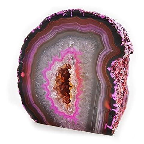 Agate Geode - Rose