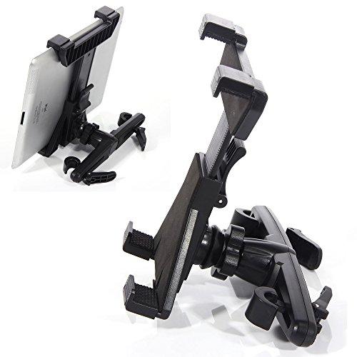 ACAMPTAR Car Back Seat Headrest Mount Bracket Holder for 1/2/3/4 Tablet PCs 2 Headrest Mount