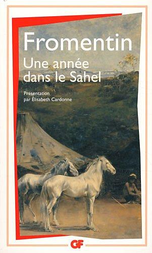 Une année dans le Sahel par Eugène Fromentin