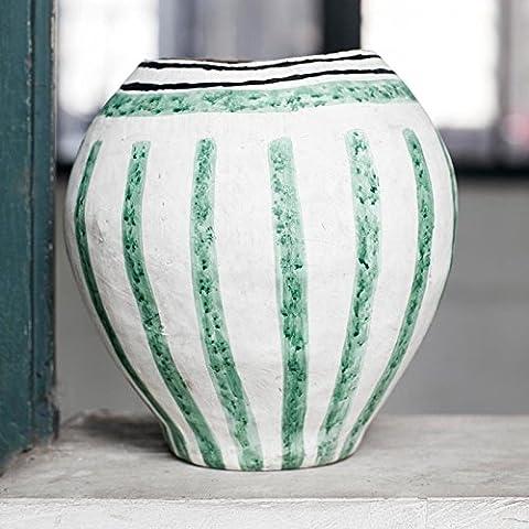 Vase en papier peint ISA, D23 H