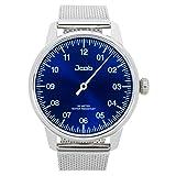 Jcob Einzeiger Uhr JCW003-SS01 Herren Blau Stahlarmband