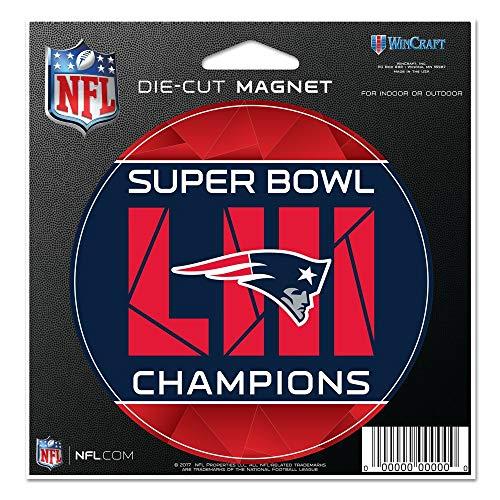 Wincraft NFL New England Patriots Super Bowl 2019 Champions Magnet - Super Bowl-fanartikel Patriots