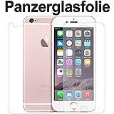 tomaxx Panzerglasfolie Apple iPhone 6 (4,7) Glasfolie Hartglas 9H (1 x VORNE und 1 x RÜCKSEITE) Panzerglas